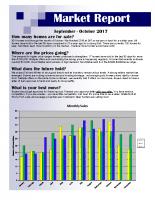 September & October 2017 Market Report